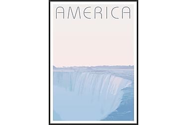 Tavla Niagara Falls 50x70 cm