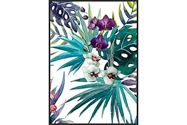 Tavla Tropic flower 50x70 cm