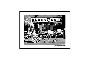 Poster Blues Café