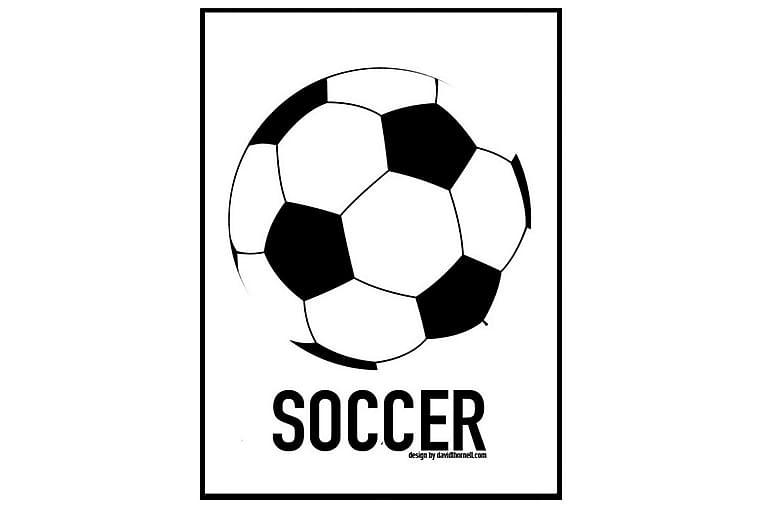 Poster Fotboll - Finns i flera storlekar - Inredning - Väggdekor - Posters