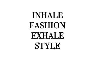 Poster Inhale Fashion