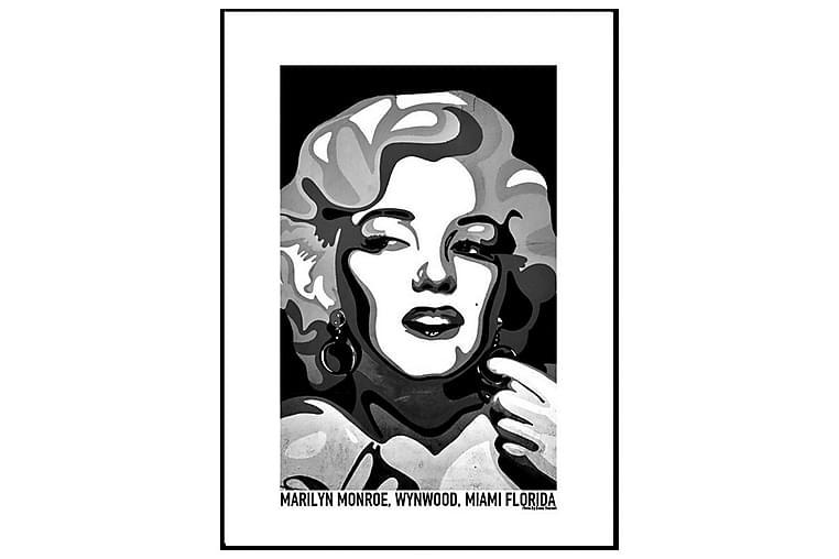 Poster Marilyn Monroe black - Finns i flera storlekar - Inredning - Väggdekor - Posters