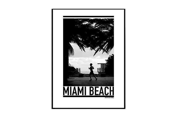 Poster Miami Jogger - Finns i flera storlekar - Inredning - Väggdekor - Posters