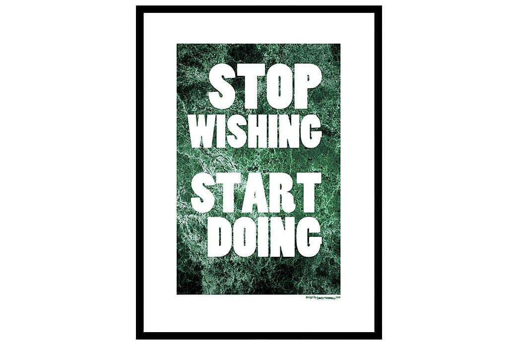 Poster Start doing - Finns i flera storlekar - Inredning - Väggdekor - Posters