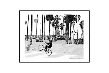 Poster Venice Biker