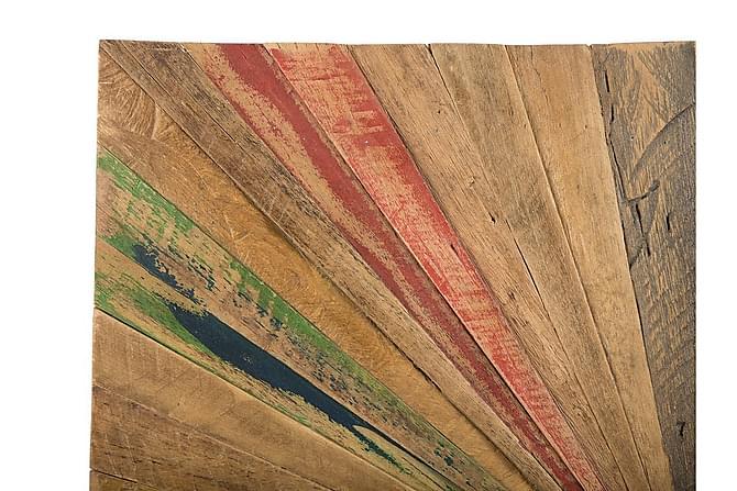 Väggdekoration Trä Cancun 70 cm - Flerfärgad - Inredning - Väggdekor