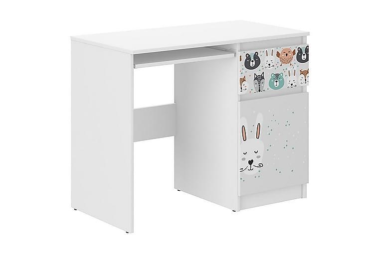 Skrivbord N-33 - Vit - Möbler - Barnmöbler - Barnbord