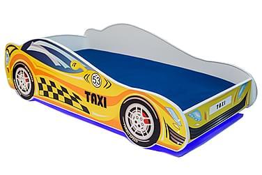 Barnsäng Dusko Taxibil 80x160 LED
