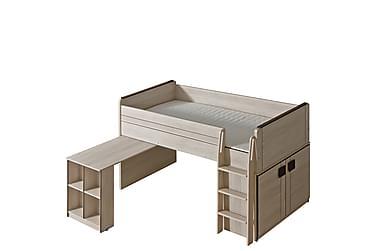 Barnsäng + madrass Gumi 208x131x104 cm