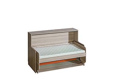 Barnsäng + skrivbord + madrass Ultimo 216x101x137 cm