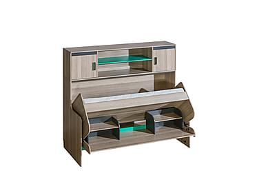 Barnsäng + skrivbord Ultimo 216x93x137 cm