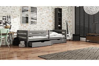 Säng Bioma 90x200 med Förvaring