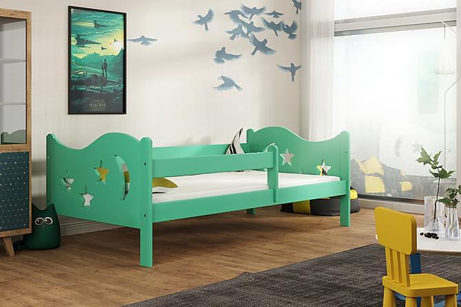 Säng Lourdy 80x160 - Grön - Möbler - Barnmöbler - Barnsäng & juniorsäng