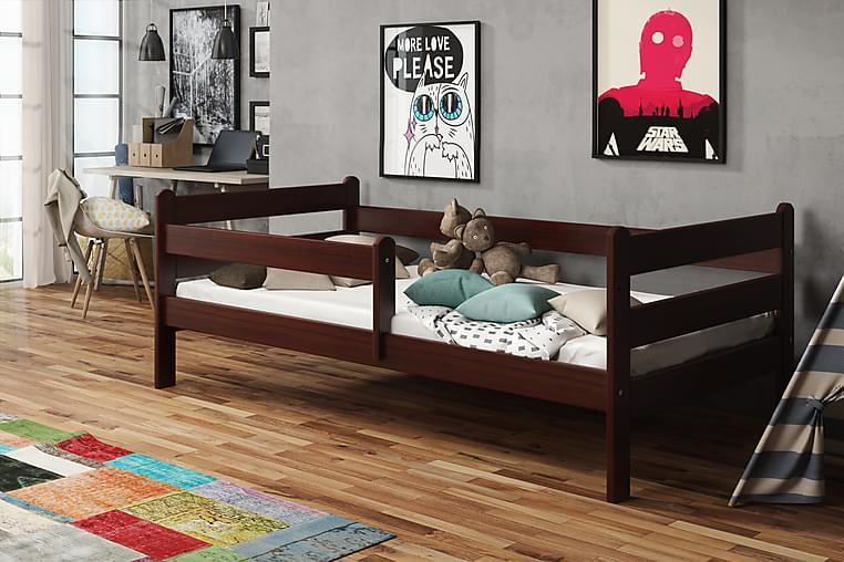 Säng Lupin 80x140 - Valnöt - Möbler - Barnmöbler - Barnsäng & juniorsäng