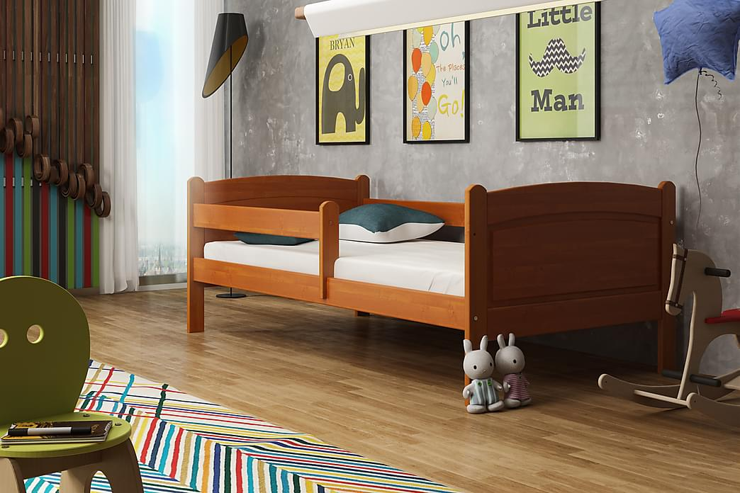 Säng Nomark 80x140 - Teak - Möbler - Barnmöbler - Barnsäng & juniorsäng