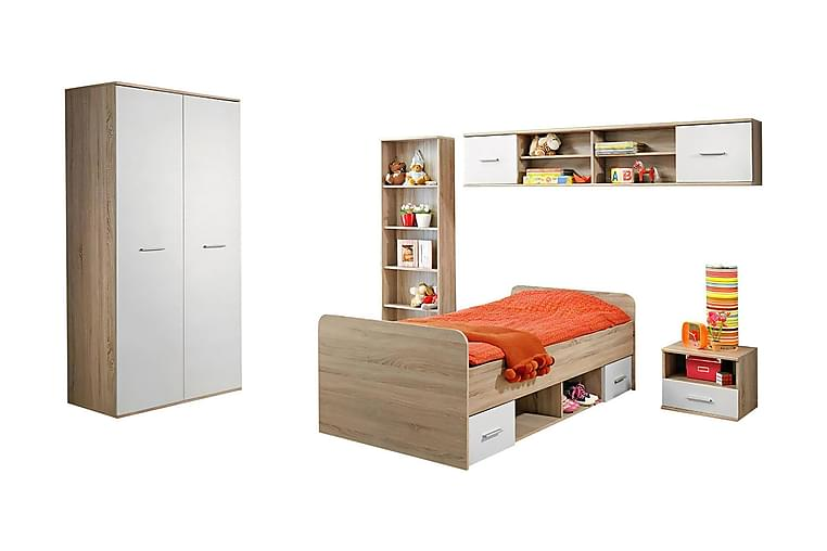 Möbelset barnrum Dino - Beige - Inredning - Inredning barnrum - Förvaring till barnrum