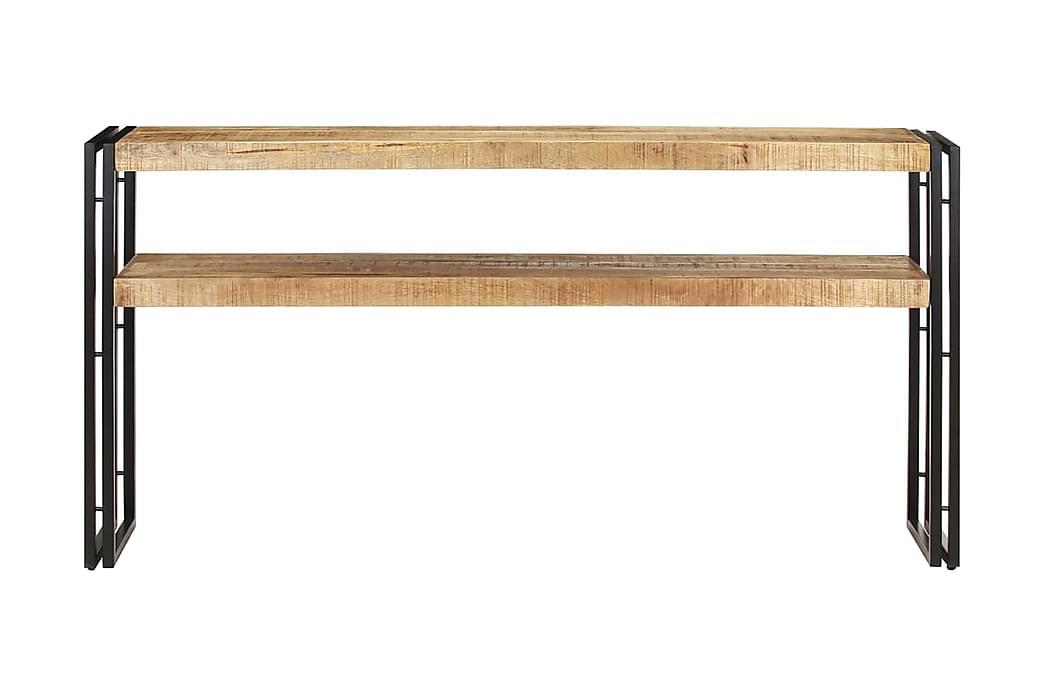 Avlastningsbord 150x30x75 cm grovt mangoträ - Brun - Möbler - Bord - Avlastningsbord & hallbord
