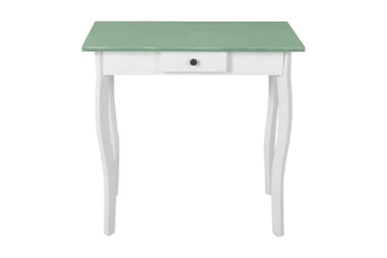 Konsolbord MDF vit och grågrön - Vit - Möbler - Bord - Avlastningsbord & hallbord