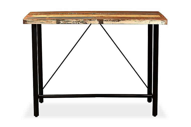 Barbord massivt återvunnet trä 150x70x107 cm - Brun - Möbler - Bord - Barbord & ståbord