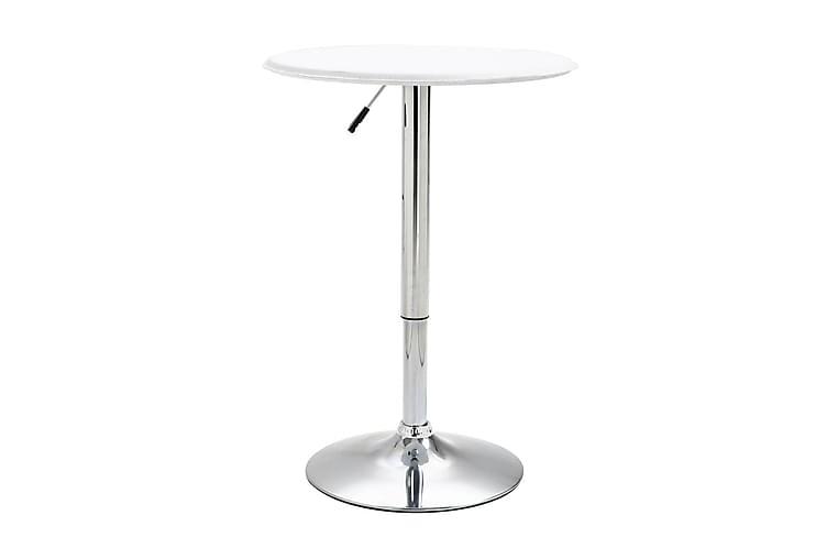 Barbord vit Ø60 cm MDF - Vit - Möbler - Bord - Barbord & ståbord