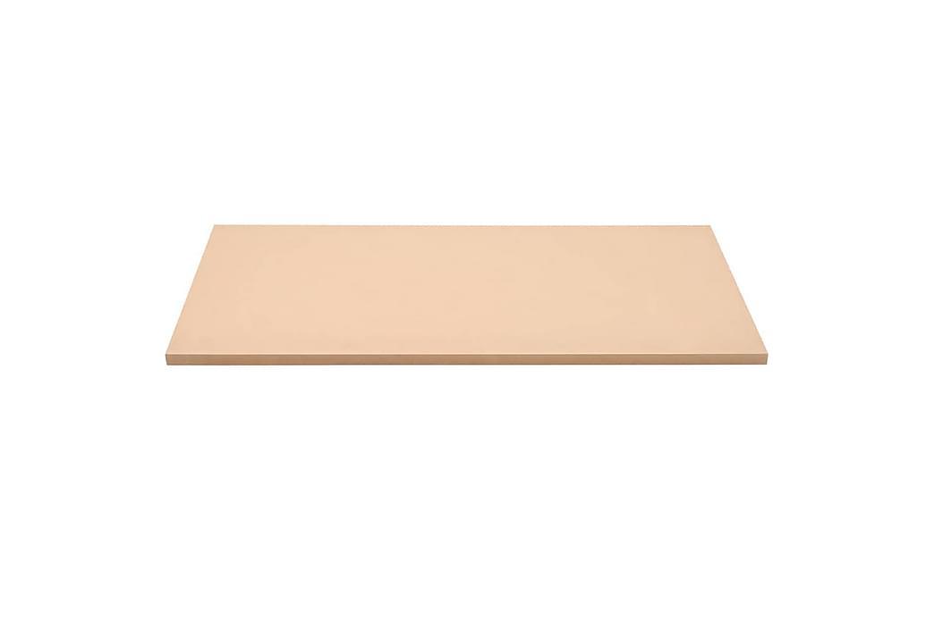 MDF-skivor rektangulära 120x60 cm 25 mm - Beige - Möbler - Bord - Bordsben & tillbehör