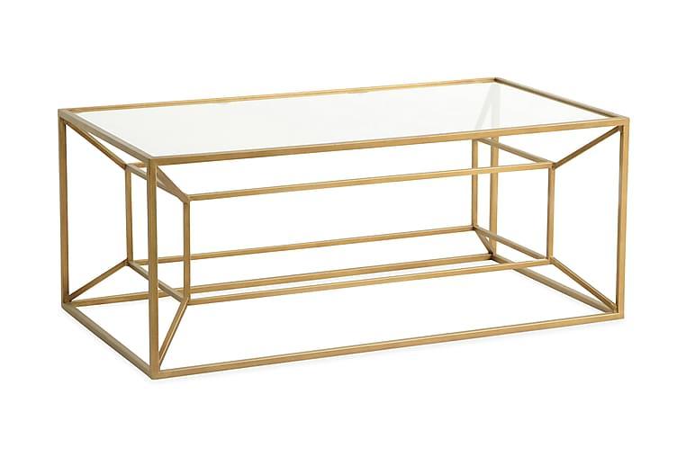 Sidobord 110 cm - Guld - Inredning - Småmöbler - Brickbord & småbord