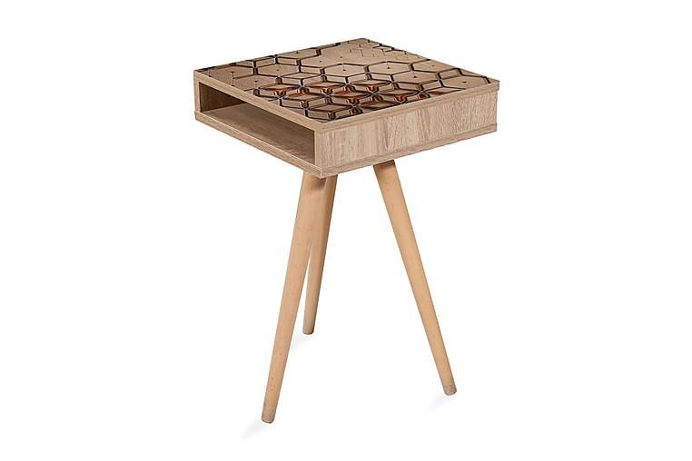 Sidobord Gillberga 40 cm - Brun - Inredning - Småmöbler - Brickbord & småbord
