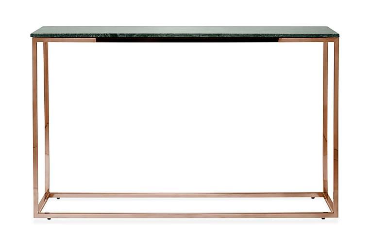 Avlastningsbord Titania 120 cm Marmor - Grön|Koppar - Möbler - Bord - Avlastningsbord & hallbord