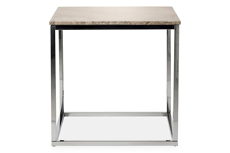 Sidobord Titania 45 cm Marmor - Beige Stål - Möbler - Bord - Soffbord