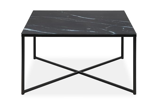 Soffbord Alisma 80 cm - Svart - Möbler - Bord - Soffbord