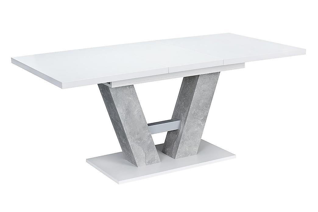 Alvaro Bord - Grå/Vit - Möbler - Bord - Matbord & köksbord