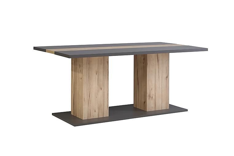Bord Dunnington 180 cm - Grå|Brun - Möbler - Bord - Matbord & köksbord
