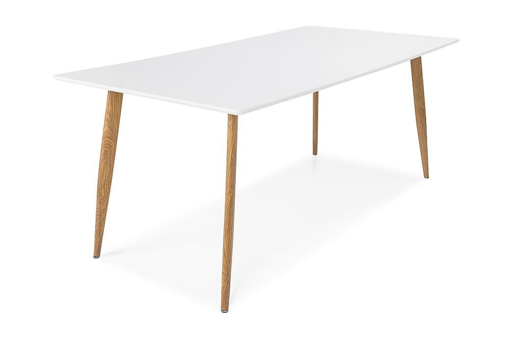 Bord Tommy 180 cm - Vit|Ek - Möbler - Bord - Matbord & köksbord