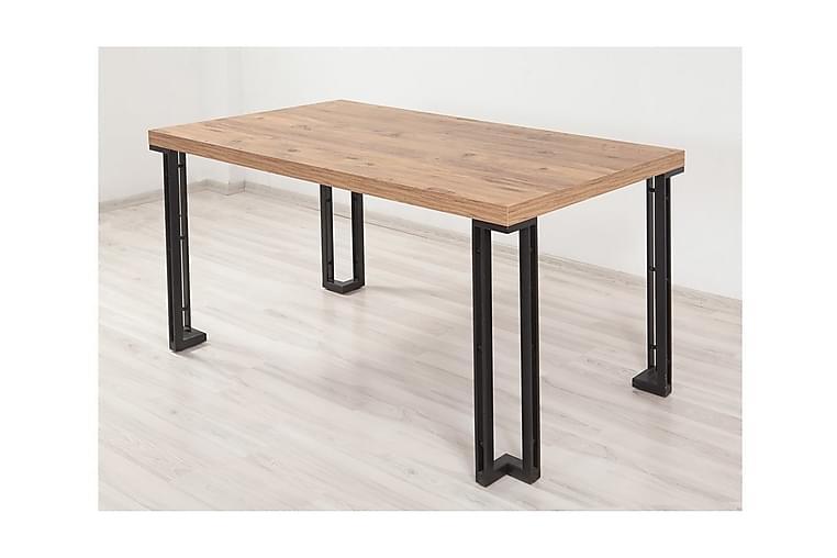 Bord Trentman 75 cm - Trä natur Svart - Möbler - Bord - Matbord & köksbord