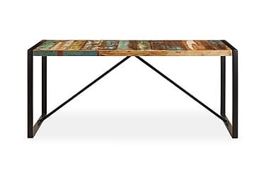 Matbord 180x90x75 cm massivt återvunnet trä