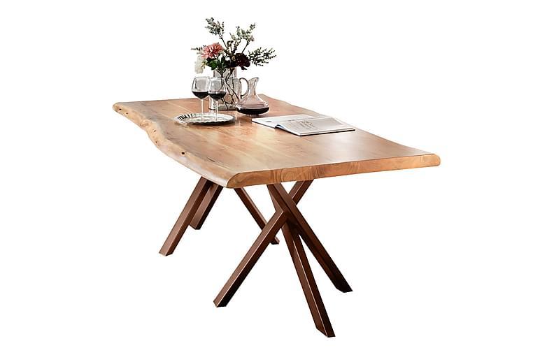 Matbord Arhunda - Trä/Natur/Brun - Möbler - Bord - Matbord & köksbord