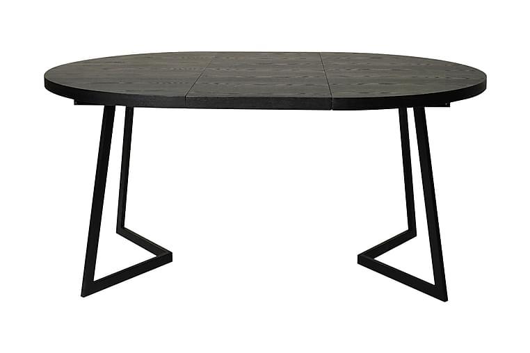 Matbord Folsberga 120 cm - Svart - Möbler - Bord - Matbord & köksbord