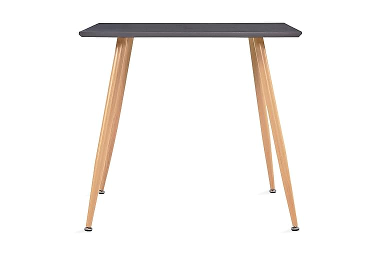 Matbord grå och ek 80,5x80,5x73 cm MDF - Grå - Möbler - Bord - Matbord & köksbord