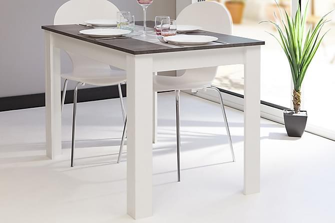 Matbord Guttmund Betong/Vit - Grå - Möbler - Bord - Matbord & köksbord
