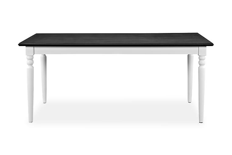 Matbord Hampton Vit/Svart - 190 cm Mahognyfanér - Möbler - Bord - Matbord & köksbord