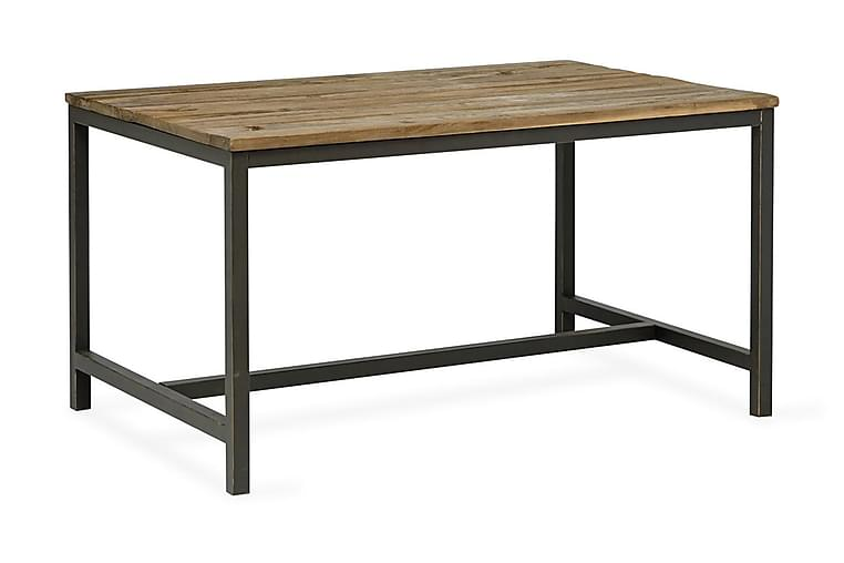 Matbord Hera 140 cm - Trä Svart - Möbler - Bord - Matbord & köksbord