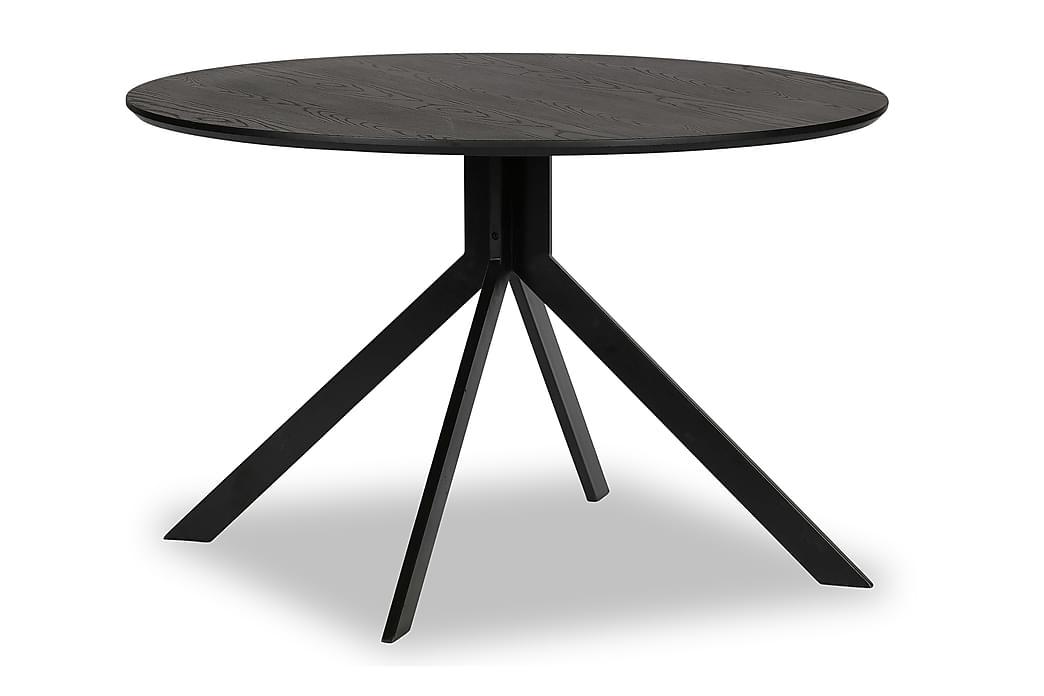 Matbord Iban 120 cm Runt - Svart - Möbler - Bord - Matbord & köksbord