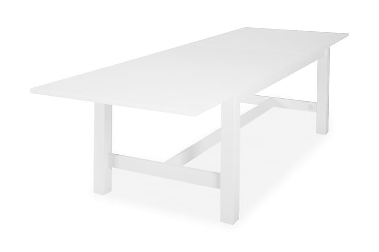 Matbord Isadora Förlängningsbart 240 cm med Iläggsskiva - Vit - Möbler - Bord - Matbord & köksbord