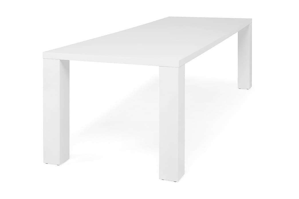 Matbord Jack Förlängningsbart 160 cm - Vit - Möbler - Bord - Matbord & köksbord