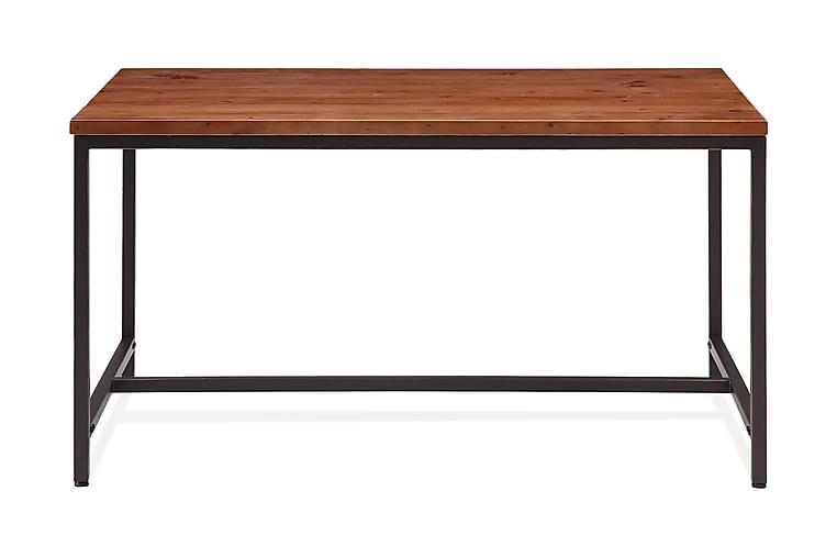Matbord Limerick 140 cm - Trä|Svart - Möbler - Bord - Matbord & köksbord