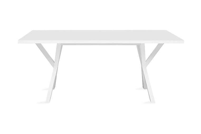 Matbord Lisala 180 cm - Vit - Möbler - Bord - Matbord & köksbord