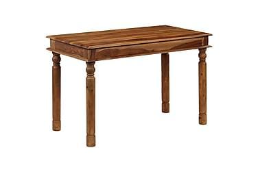 Matbord massivt sheshamträ 120x60x77 cm