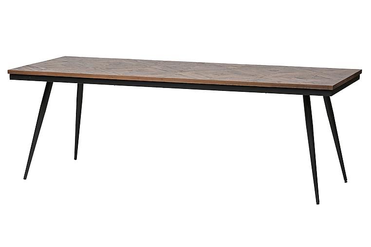 Matbord Mibelle 220 cm - Trä Natur - Möbler - Bord - Matbord & köksbord