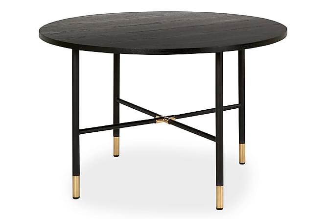Matbord Ofelia 120 cm Runt - Svart - Möbler - Bord - Matbord & köksbord