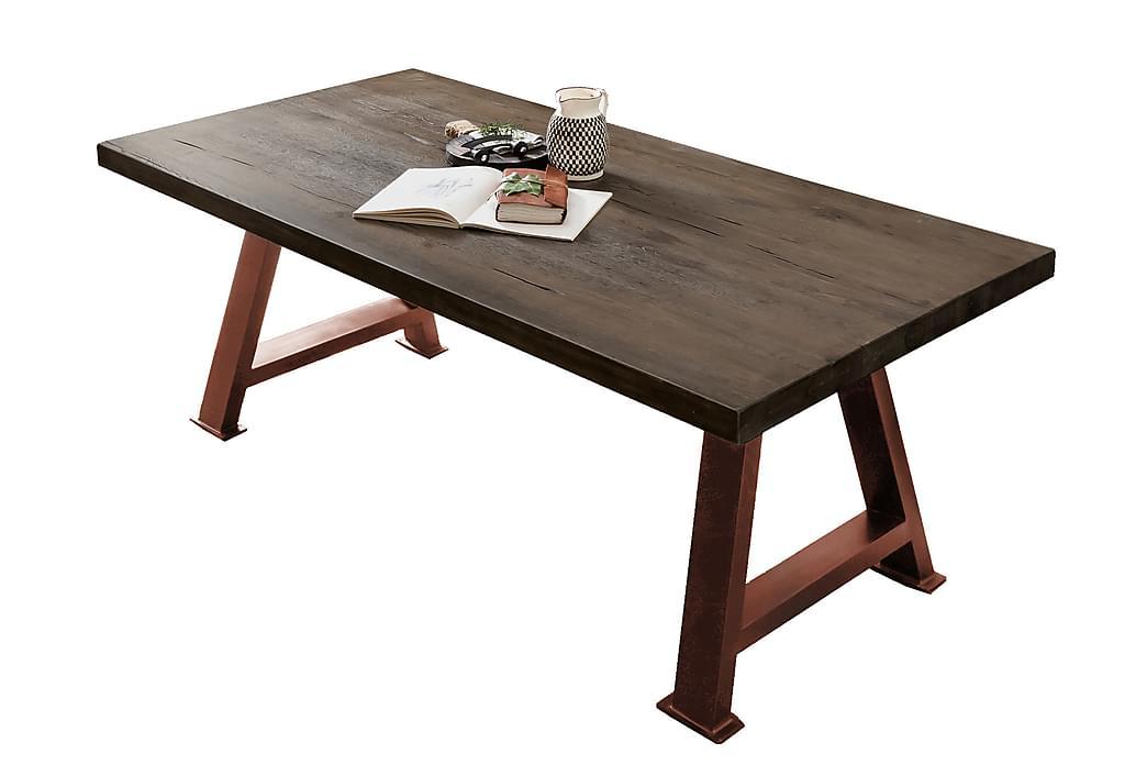 Matbord Raital 180x100 cm - Grå/Brun - Möbler - Bord - Matbord & köksbord